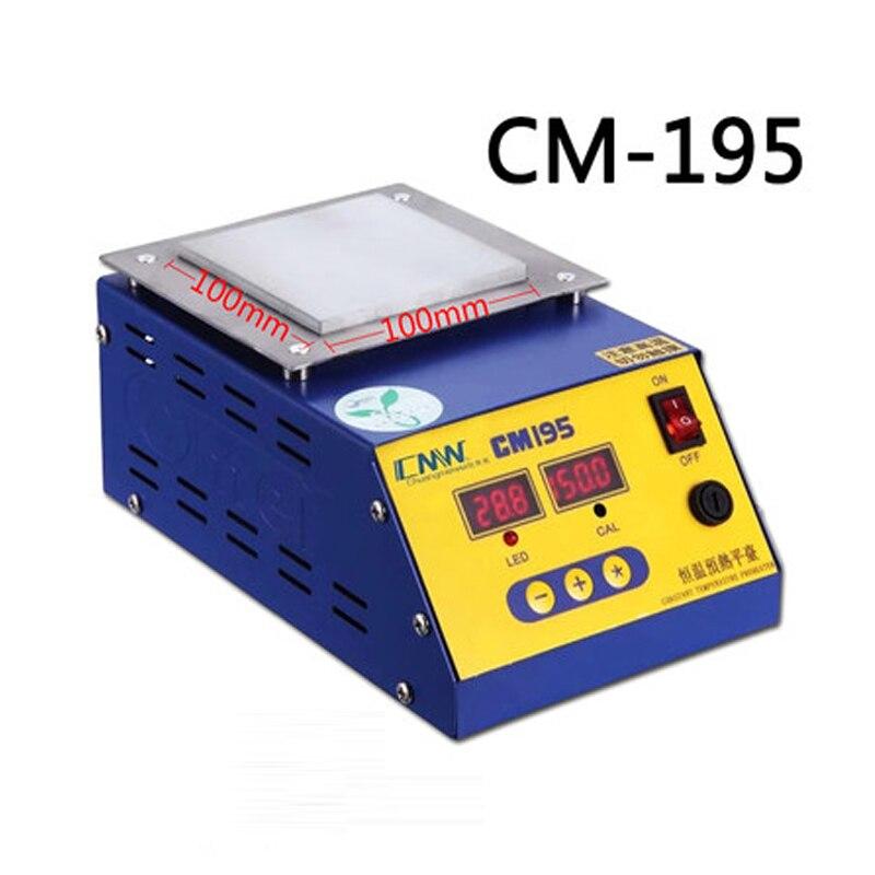 CM-195 Heating platform Digital thermostat preheating station H1903026