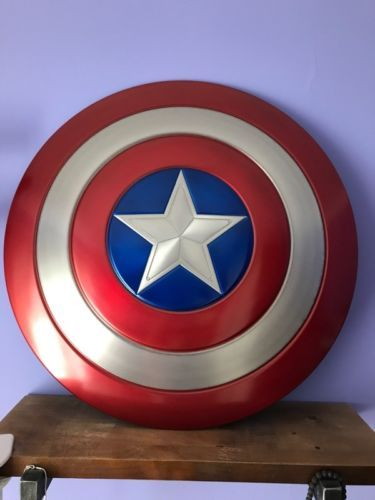 Металлические щит Капитана Америки 1:1 5