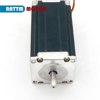 Nema23 112mm CNC Stepper Motor 425oz-in 3A CNC Stepping Motor 3D Printer Robot Foam Plastic Metal image