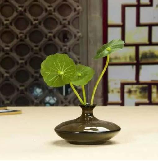 Mini Ceramic Vase Mini Desktop Decorative Bottle Chinese Antique