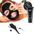 Cuidados Com a pele Sucção Máscara Preta de Carvão de Bambu Nariz Cravo Removedor Rosto Máscara Tira Poros Rasgando Peeling Facial Diminuir Os Poros