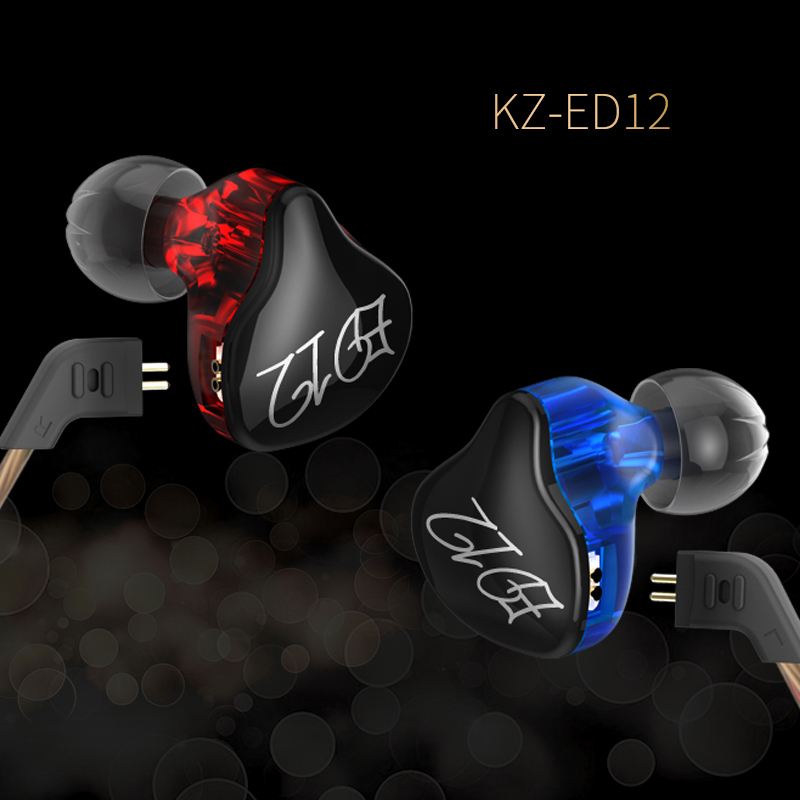 KZ In-Ear Heavy Bass Earphone mp3 player ps4 Noise Canceling Headset With Microphone Dj Hifi for mobile phone computer audifonos