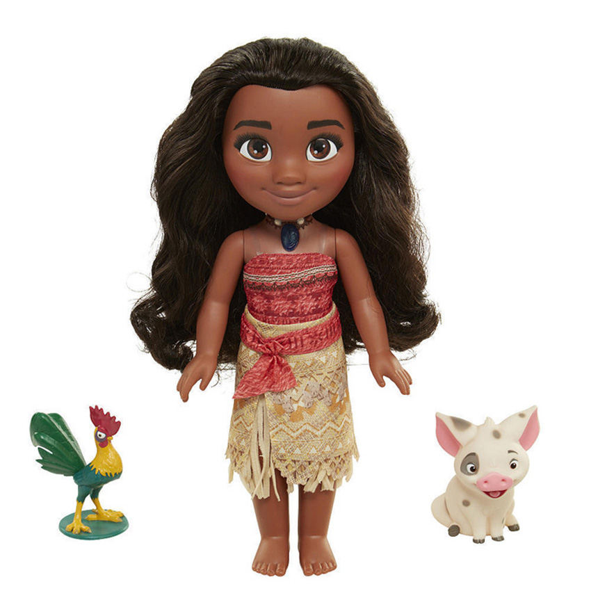 1 Piece 40cm Moana Music Anime Moana Pvc Action Figures toy Control Talk Sing song Action Figures Model gift for child Christmas 16pcs set 4 6cm little pvc action toy figures horse princess celestia christmas gift for kids toys