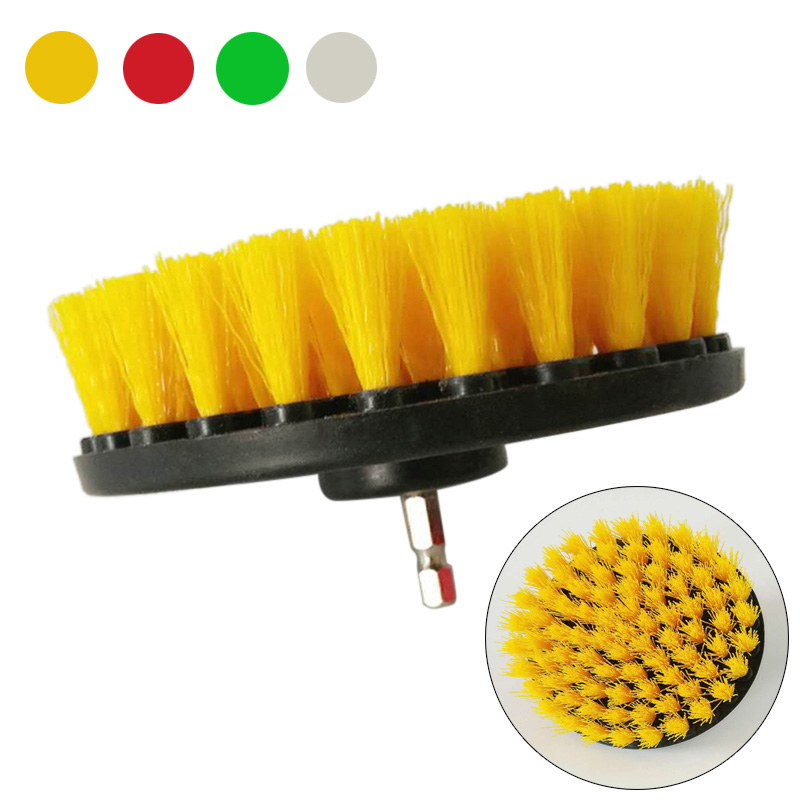 Hand & Power Tool Accessories Able 5/4/2inch Clean Cleaning Brush Electric Drill Stainless Steel For Fabric Sofa Carpet Leather Car Interiors -m25 Tools