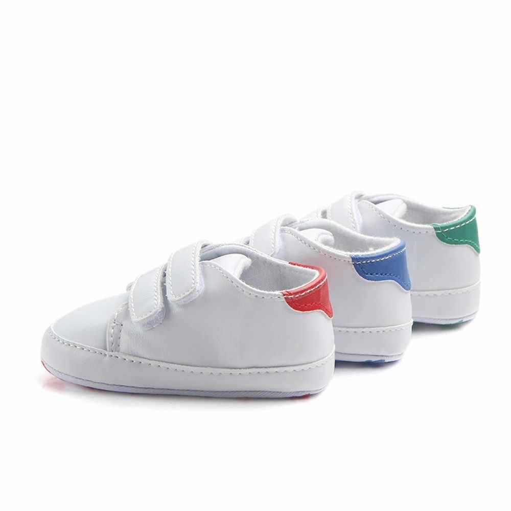 Bebek ayakkabi/новая популярная однотонная нескользящая обувь для новорожденных, Повседневная прогулочная обувь, отличное качество, подарки для малышей