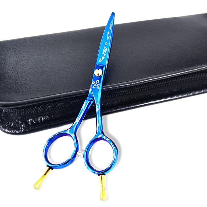 Scissors hair professional new arrival professional Hairdressing Scissors one piece hair cutting scissors and scissors case
