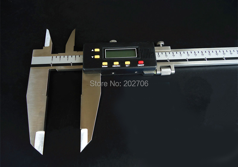 0-1000 мм 40 дюймов цифровой суппорт 1000 мм сверхмощный Электронный штангенциркуль с ножевыми губками