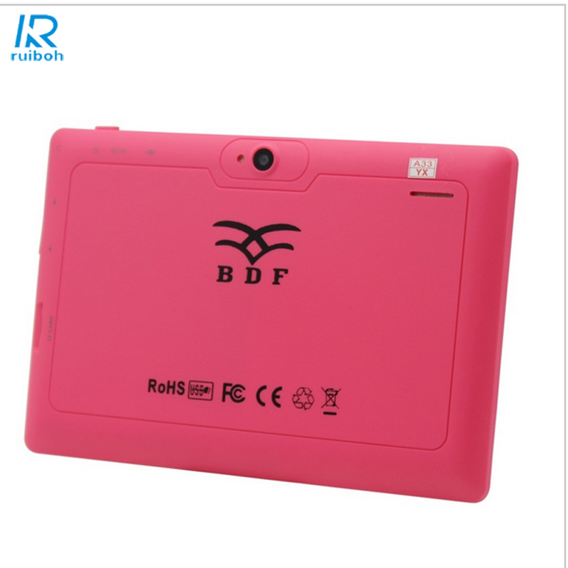7 inch Flash Tablet PC Android4.4  Wi-Fi  Bluetooth 512MB di Ram; 16 GB Rom Tablet PC Brand Google support