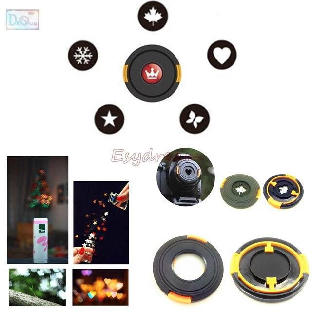 77mm Bokeh effet lentille bouchon filtre pour romantique scène artistique photographie caméra lentilles 62 67 72 77mm 62mm 67mm 72mm
