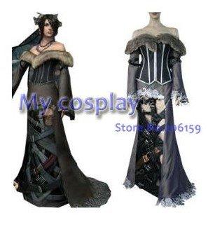 Anime Final Fantasy Cosplay-Final Fantasy X Lulu femme Performance Costume Cosplay Costume livraison gratuite