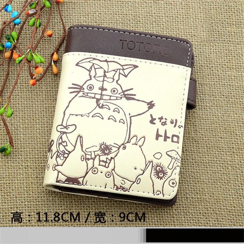 Min grann Totoro Wallet Cartoon Unisex Billfold Men Kvinnor - Plånböcker - Foto 4