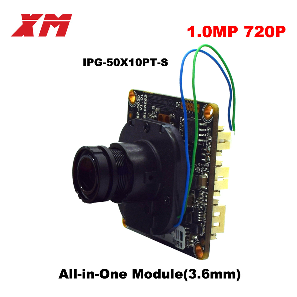 720P XM All-in-One Module  ip camera H.264+ Onvif protocol cam Module Cloud Function P2P cmos sensor camera module cloud implementation in organizations