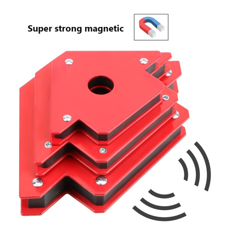 50LBS Welding Magnetic Holder Strong Magnet Angle Arrow Welder Positioner Power Tool Soldering Locator