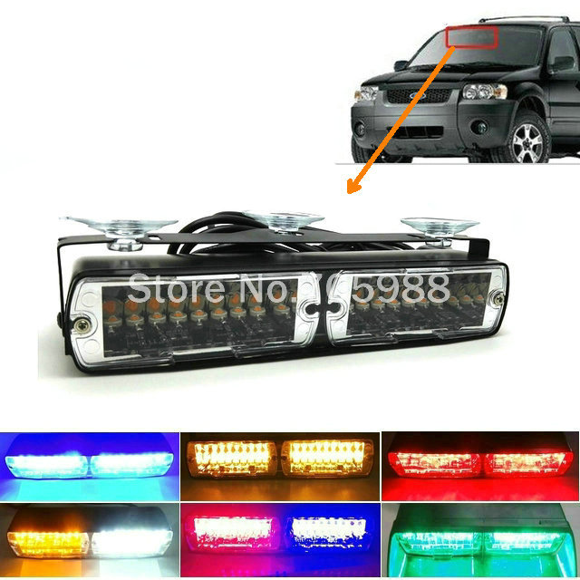 Hight power 20W LED flash light car strobe Emergency Police Warning light Flashing firemen Led lights in Car truck auto сорочка и стринги soft line mia размер s m цвет белый