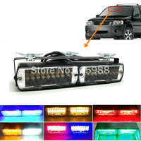 Hight power 20W LED flash light car strobe Emergency Police Warning light Flashing firemen Led lights in Car truck auto
