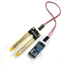 Buy Free shipping 5pcs/lot Soil Hygrometer Humidity Detection Module Moisture Water Sensor for Arduino
