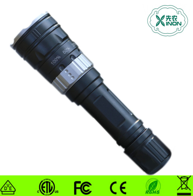 High Power Rechargeable SOS Function Led Flashlight,Led Torch