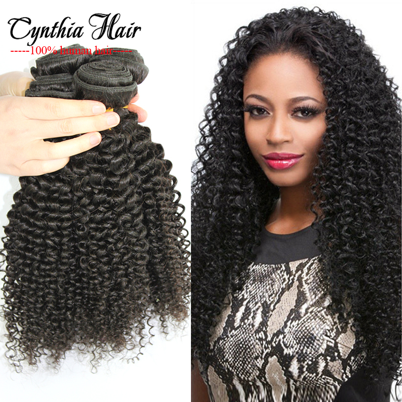 Afro Kinky Curly Natural Hair Sew In Extensions 4 Bundle Deals Cheap