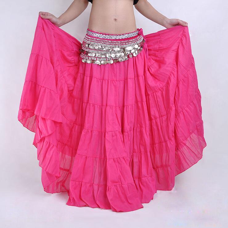 Φ_Φ16 colores tribal danza del vientre mujeres Gypsy Dance Full ...