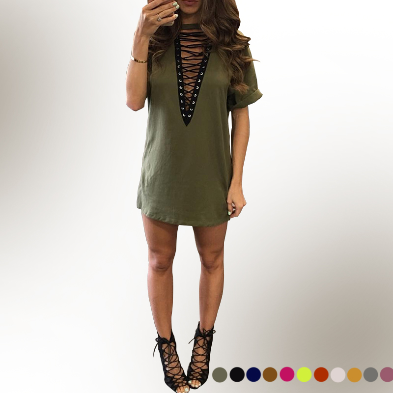 sexy v neck summer shirt dress ukraine women online shopping india gothic beach club fashion. Black Bedroom Furniture Sets. Home Design Ideas