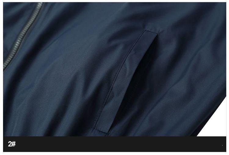 Men Jacket Gosha Rubchinskiy Classic Navy Tricolor Sport Long sleeve Windbreaker Jackets Hiphop Skateboards Couples Outwear S-XL (11)