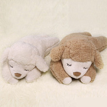 Fancytrader Soft Plush Sheep Pillow Cute Stuffed Animals Sheep Sleeping Toys Cushion 90cm 3 Colors