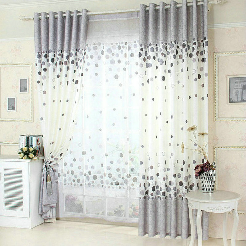 US $9.07 32% OFF New Arrival Blue /Green /Gray Window Curtain For Living  Room Floral Kitchen Curtains For Summer-in Curtains from Home & Garden on  ...