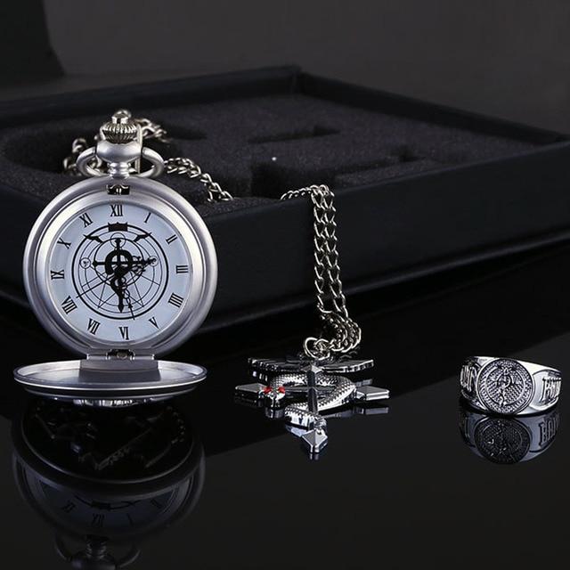 Fullmetal Alchemist Quartz with Necklace