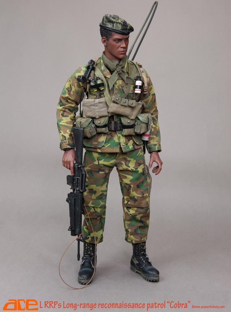 1/6 scale Military figure US LRRPs Long-Range Reconnaissance Patrol Cobra in Vietnam 12