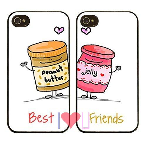 BFF Best Friends Forever Lover Protective back skins cellphone case cover fits iphone 4/4s 5/5s SE 6/6s plus ipod touch4/5/6  -  I LOVE U store