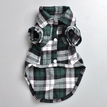 Small Sphynx Cat Plaid Shirt / 3 Colors