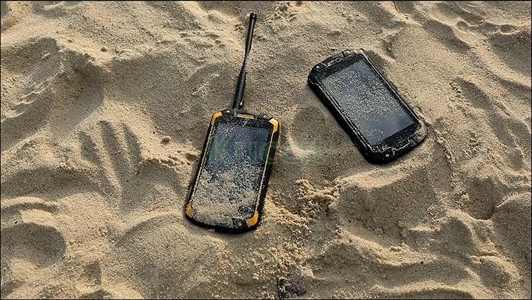 IP68 Waterdichte Telefoon Shockproof Radio Walike Talkie Unlocked mobiele telefoons originele VHF Telefoon Robuuste Android NFC S19 - 6