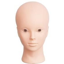 Fashion Female Mannequin Head Salon Beauty Face No Make Up For Eye Lashes Eyebrow practice massage training Model