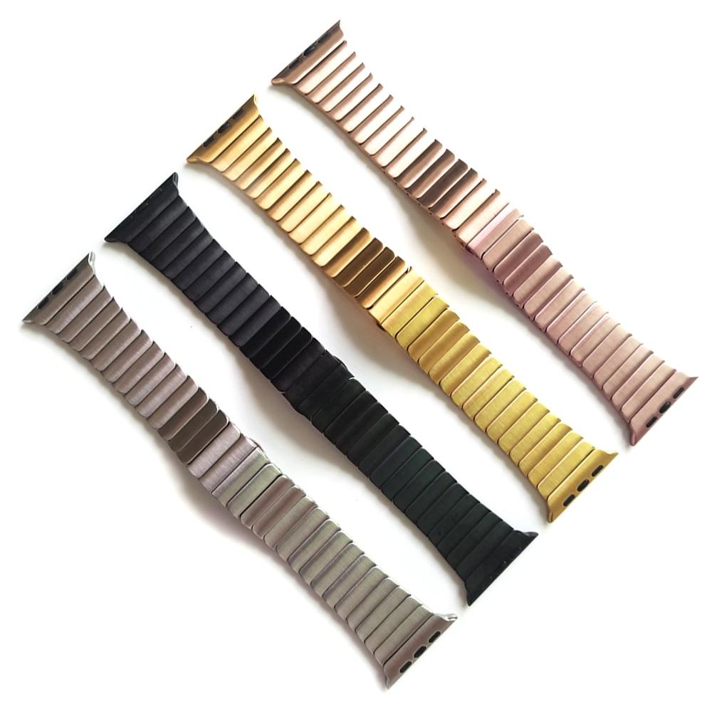 Pulsera de pulsera de eslabones metálicos de acero inoxidable 316L - Electrónica inteligente