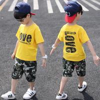 Boys Set Summer 2019 Boys Clothes Set Boys Clothing Set Children Sport Set Kids Casual Clothes Teens 4 6 8 10 12 14 Years