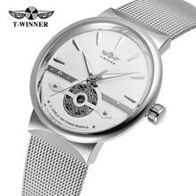 Fashion Winner Men Automatic Mechanical Watch Luxury Waterpr