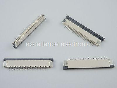 10 Pcs FPC FFC 1mm Pitch 24 Pin Drawer Type Ribbon Flat