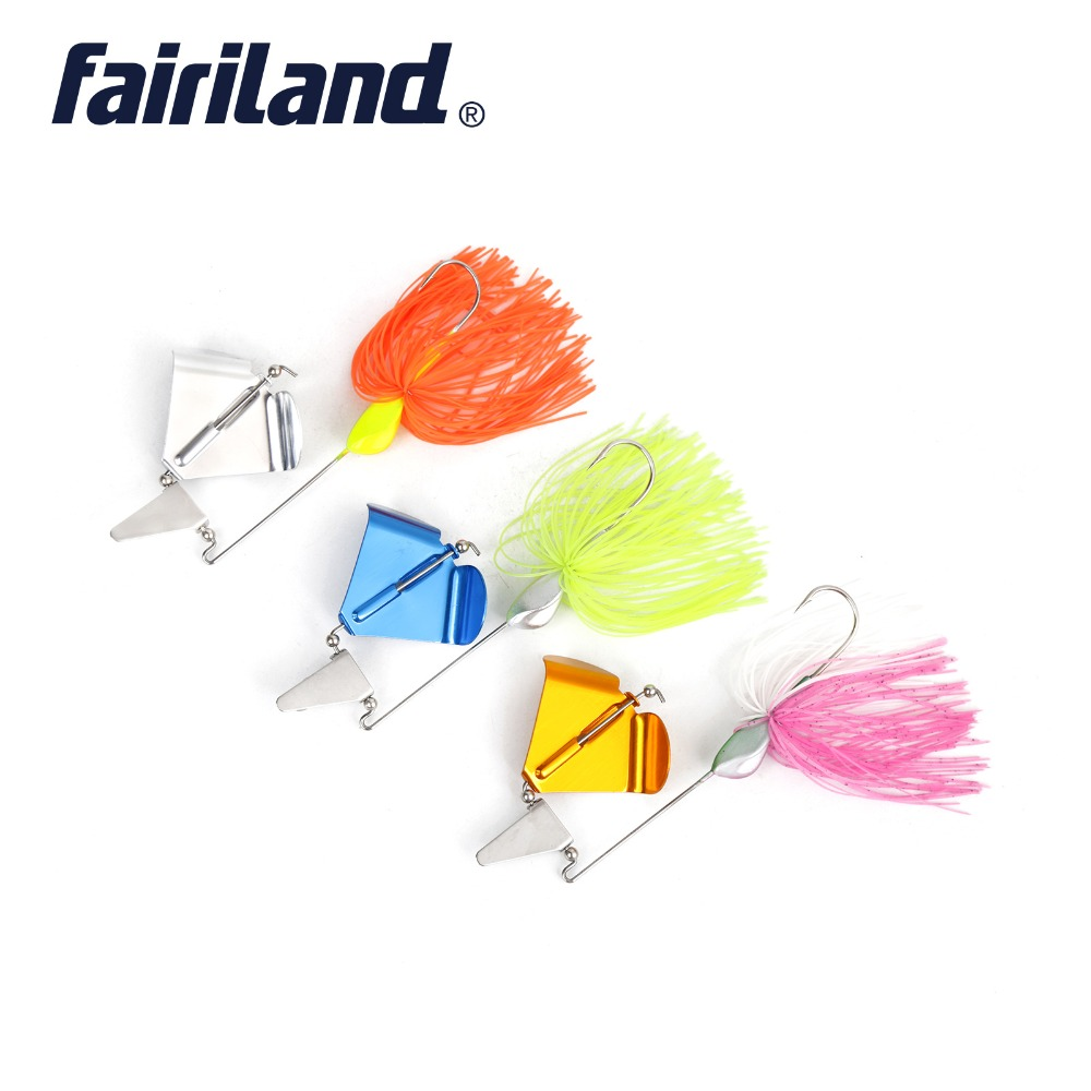 Tractor spinnerbait 20g Buzz Bait Fishing Lure lead head silicone skirts sharp hook Bass spinner baits isca de pesca fake lure