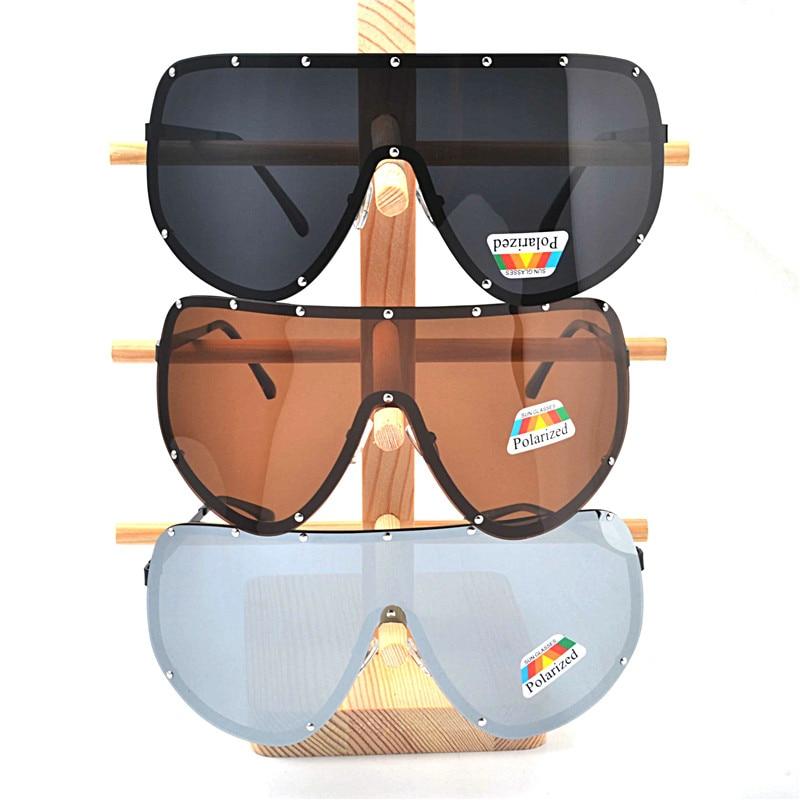 a9fa86ecc46f MINCL Fashion Luxury Polarized Sunglasses Women Brand Designer Rimless  Oversized Sunglasses Windproof Goggle Men Glasses