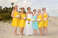 Beach Maid Of Honor Dresses For Weddings Knee Length Coral Colored Bridesmaid Wedding Guest Dress vestido de dama de honra rosa
