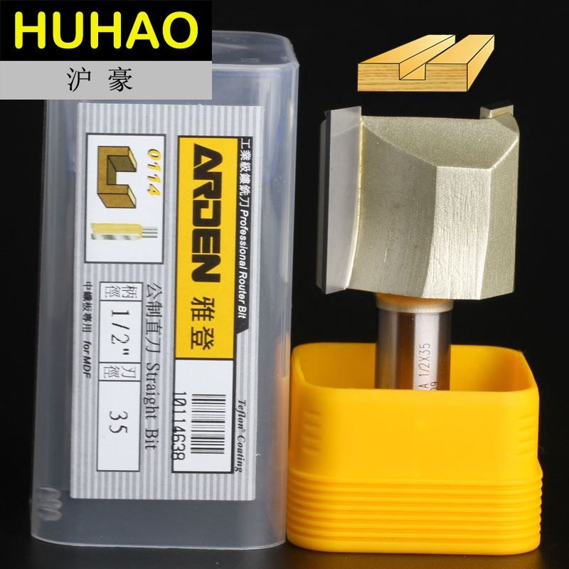 fresas para router Woodworking Tools Metric Flute Straight Bit Arden Router Bits - 1/2*35mm - 1/2 Shank - Arden A0114638 1 2 5 8 round nose bit for wood slotting milling cutters woodworking router bits