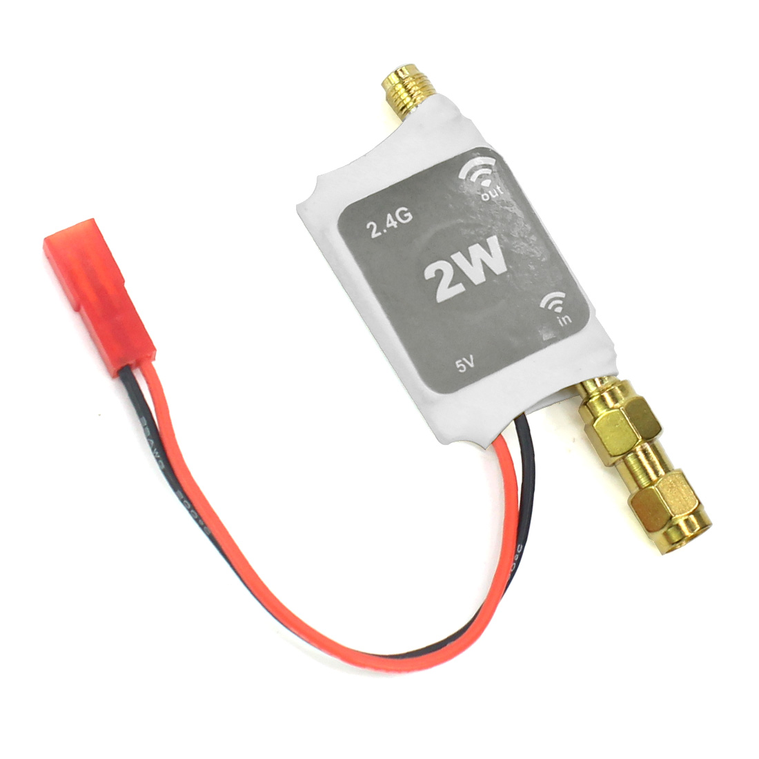 2.4G Radio Signal Amplifier Remote Control Signal Booster for RC Model Quadcopter Multicopter Drone цена
