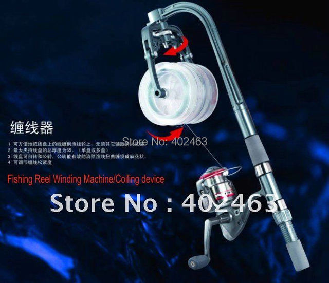 New Arrivals Fishing Reel Winding Machine/Coiling device/Tangled lines machine //Not including Fishing Reel