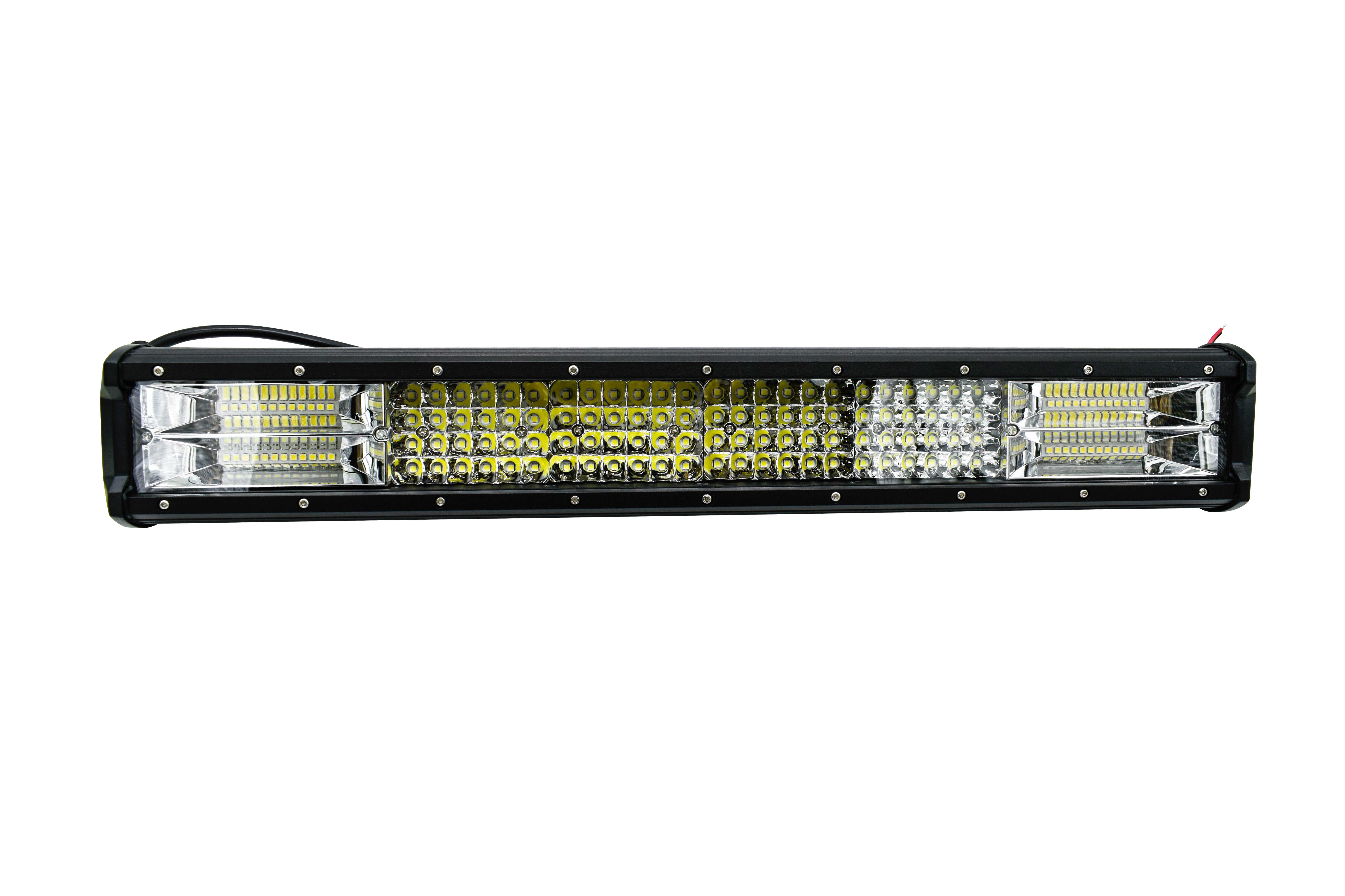 رباعية صف 4/7/17/20/23/28/36 بوصة LED قضيب مصابيح عملي الطرق الوعرة ATV 12 فولت 4X4 بقعة الفيضانات لشاحنة SUV الضباب LED القيادة ضوء عمود إضاءة LED