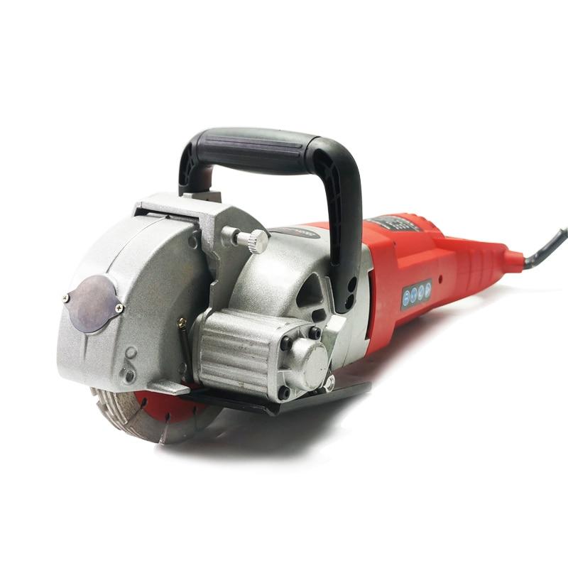 5200W WJ-156-1 Multifunction Wall Groove Cutting Machine Wall Chaser Machine For Brick & Granite Marble