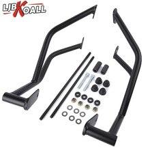 цена на Black Motorcycle Stunt Cage Crash Bar Engine Frame Guard Protector for Suzuki GSX-R 600 GSXR750 GSXR600 2006 2007 2008 2009 2010