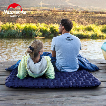 Naturehike Outdoor 2 Person Inflatable Mattress Ultralight Sleeping Pads Air Mattresses Camping Air Cushion With Fill Air Bag 6
