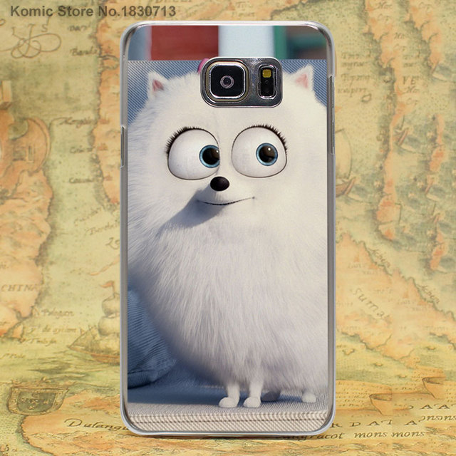 The Secret Life of Pets transparent clear hard case cover for Samsung Galaxy s6 s7 edge s4 s5 mini note 4 note5