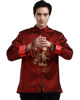 Shanghai Story chinese men's Jacket chinese traditional clothing dragon Kungfu shirt chinese traditional Chinese Style Top Man