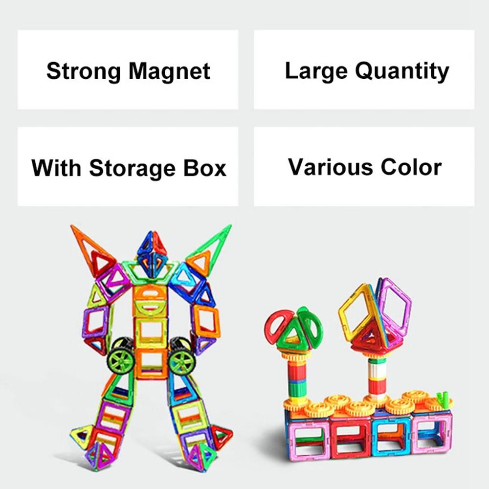 94 PCS Concepteur magnétique de blocs de construction modèle et - Concepteurs et jouets de construction - Photo 1